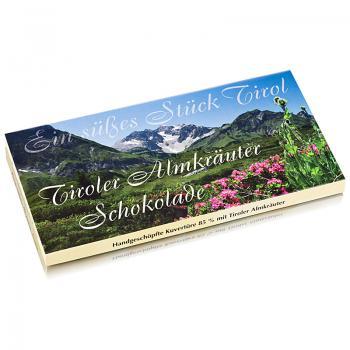 Tiroler Almkräuter Schokolade 100 g