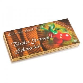 Tiroler Grangg´l Schokolade 100 g